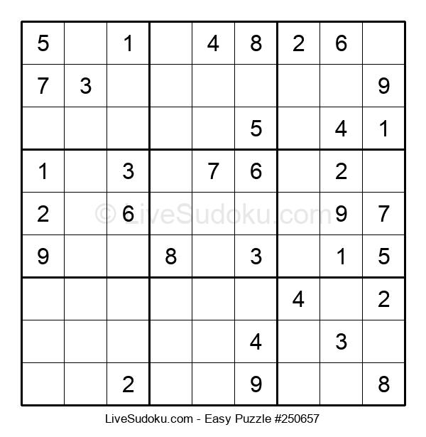 Beginners Puzzle #250657