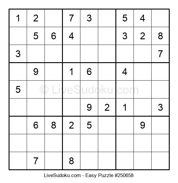 Beginners Puzzle #250658
