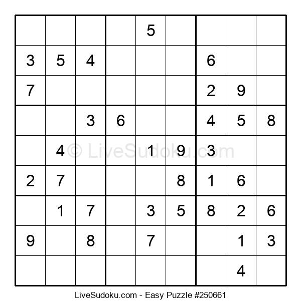Beginners Puzzle #250661