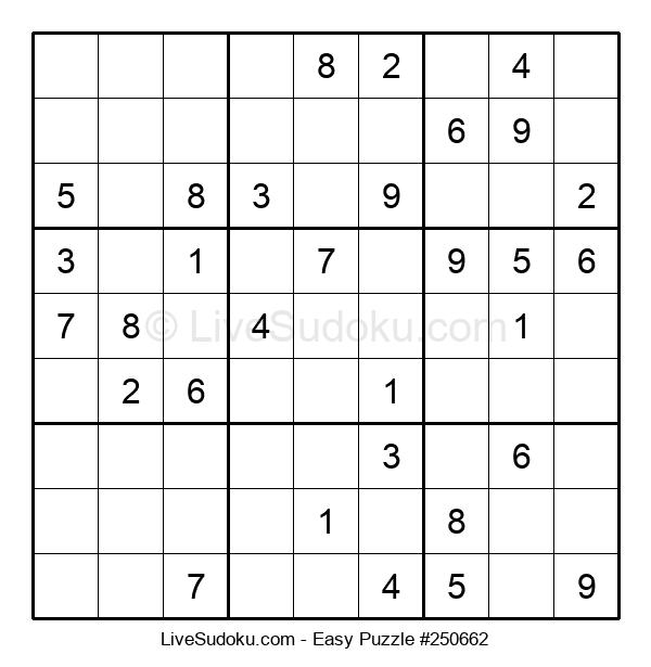 Beginners Puzzle #250662