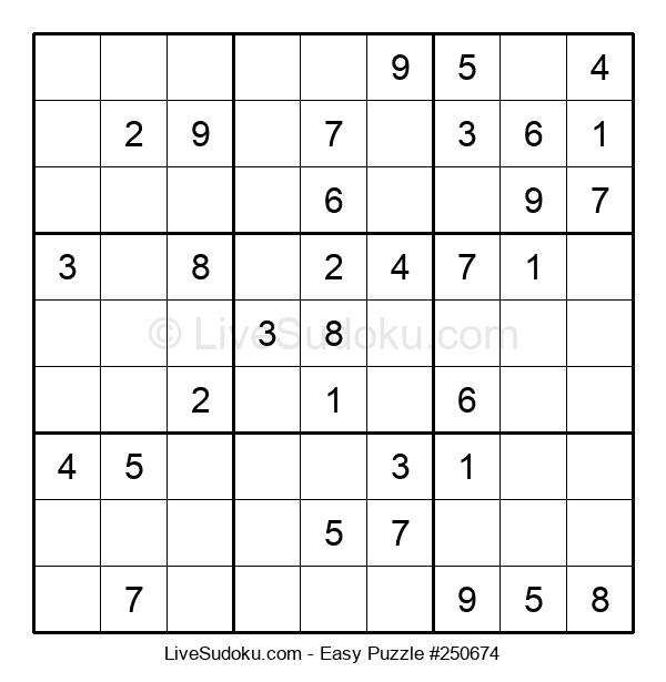 Beginners Puzzle #250674