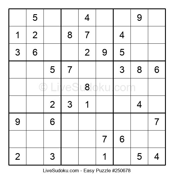 Beginners Puzzle #250678