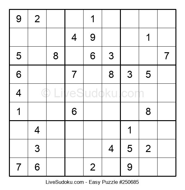 Beginners Puzzle #250685
