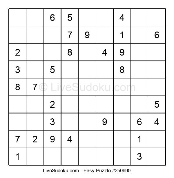 Beginners Puzzle #250690