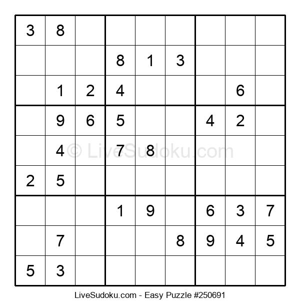 Beginners Puzzle #250691