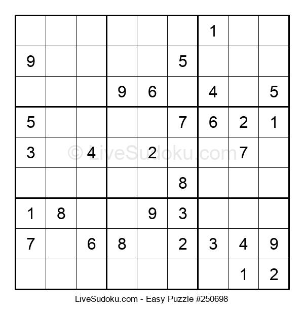 Beginners Puzzle #250698