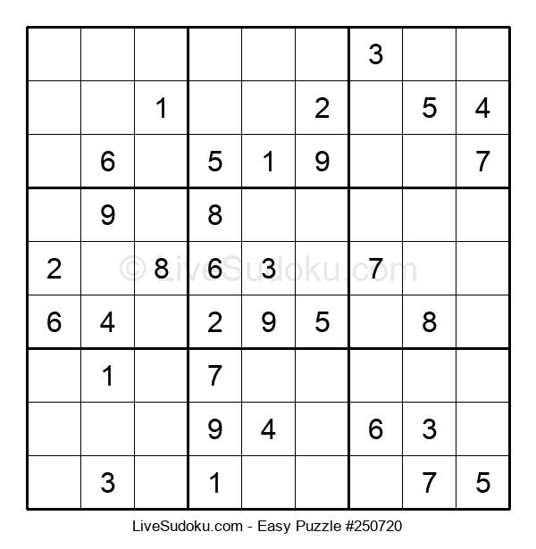 Beginners Puzzle #250720