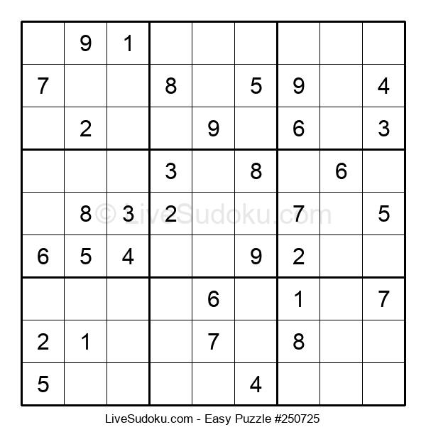 Beginners Puzzle #250725