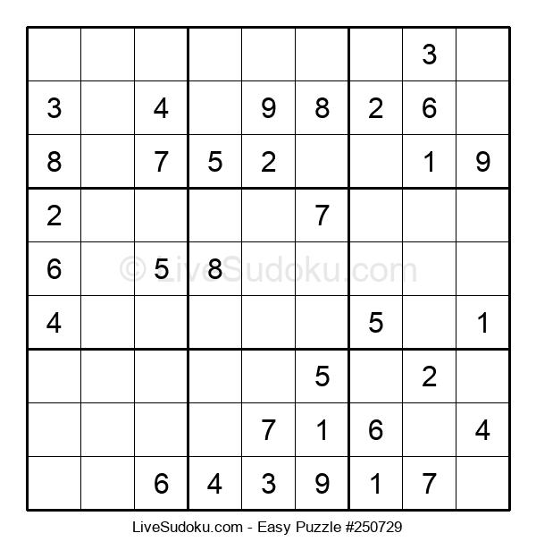 Beginners Puzzle #250729
