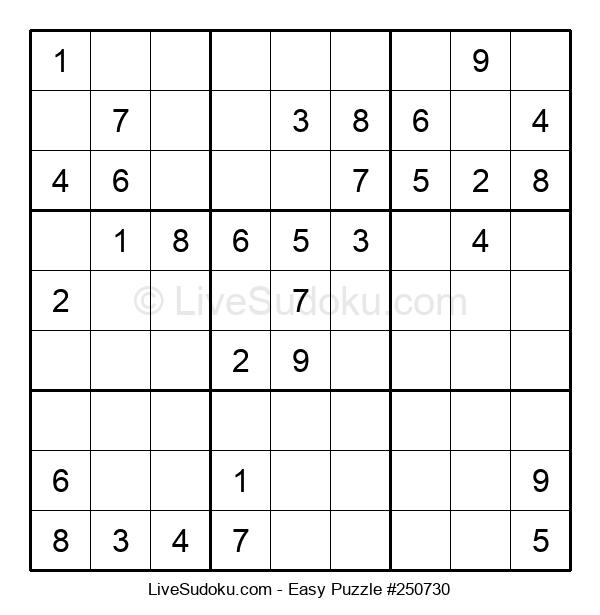 Beginners Puzzle #250730