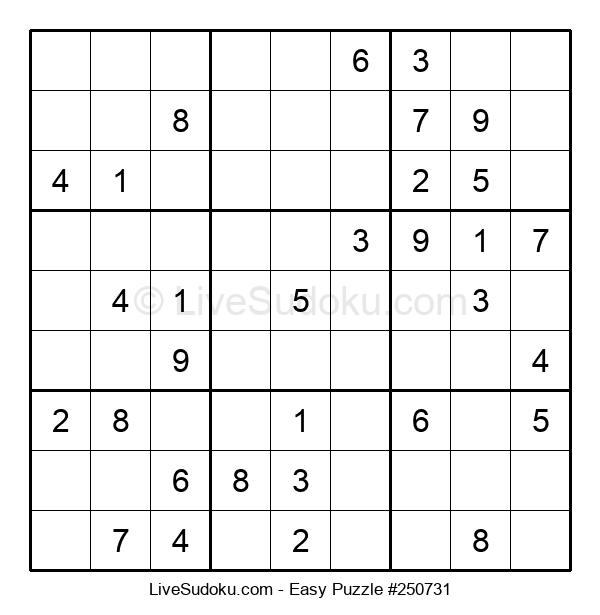 Beginners Puzzle #250731