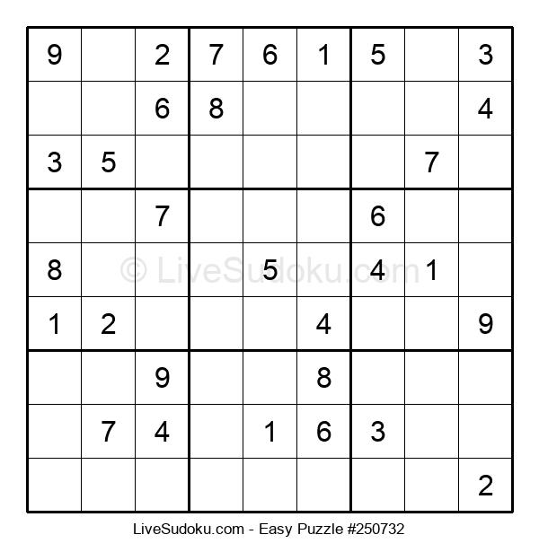 Beginners Puzzle #250732