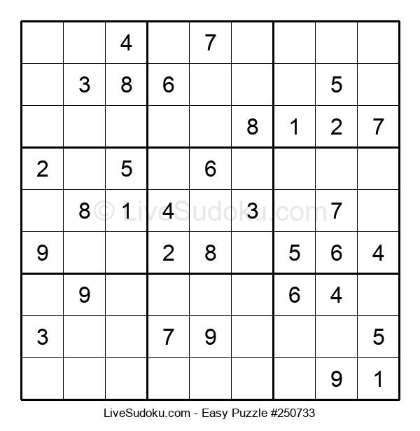 Beginners Puzzle #250733