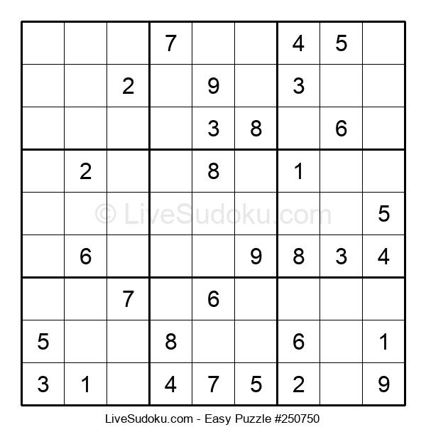 Beginners Puzzle #250750