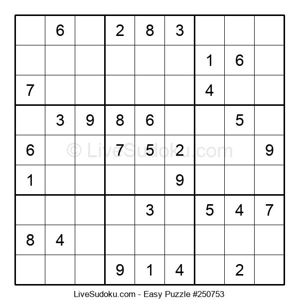 Beginners Puzzle #250753