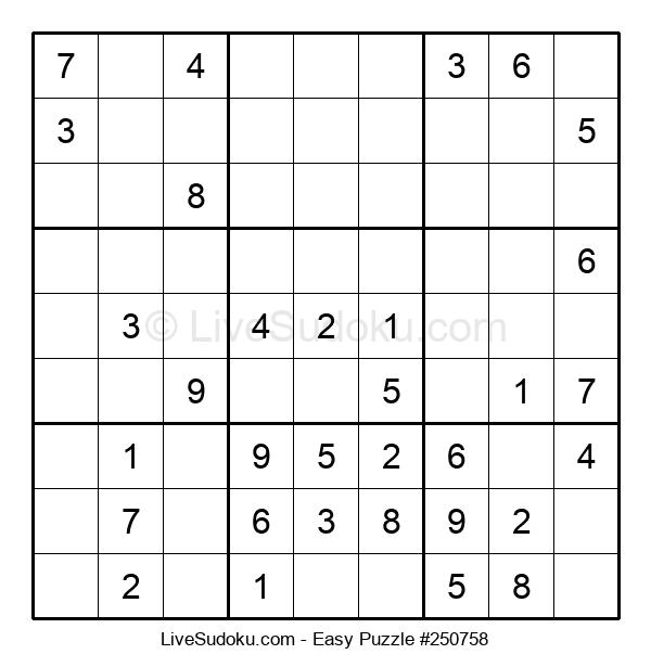Beginners Puzzle #250758