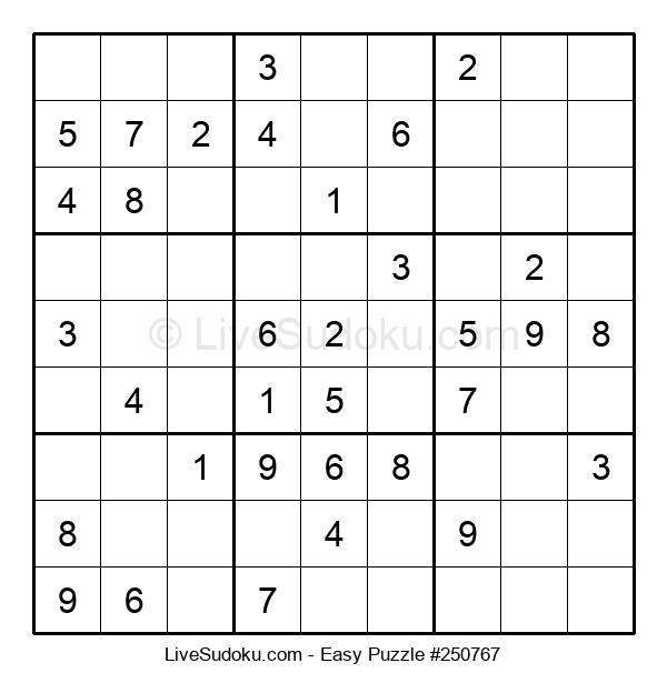 Beginners Puzzle #250767