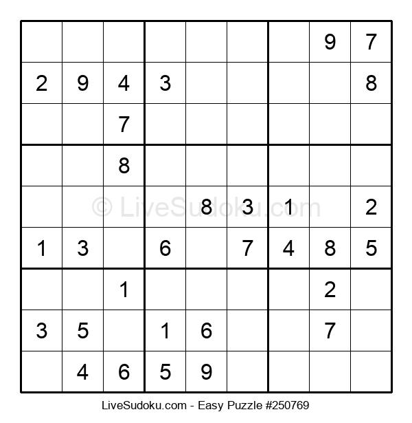 Beginners Puzzle #250769