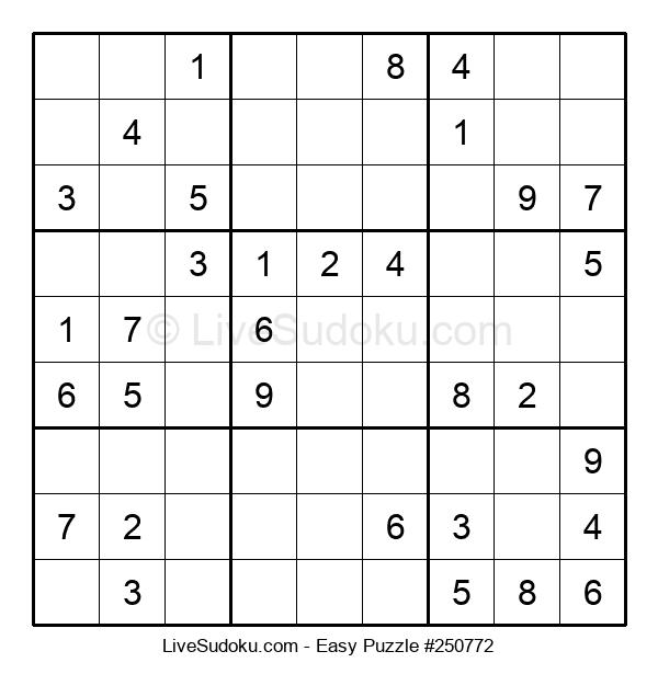 Beginners Puzzle #250772