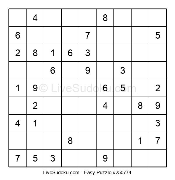 Beginners Puzzle #250774