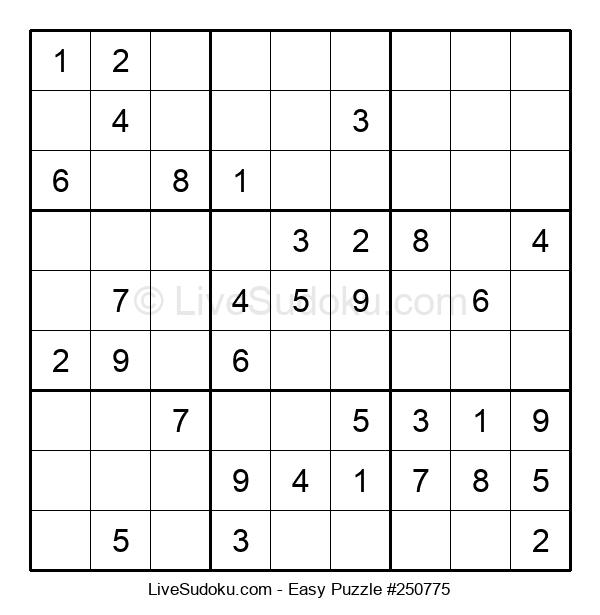 Beginners Puzzle #250775