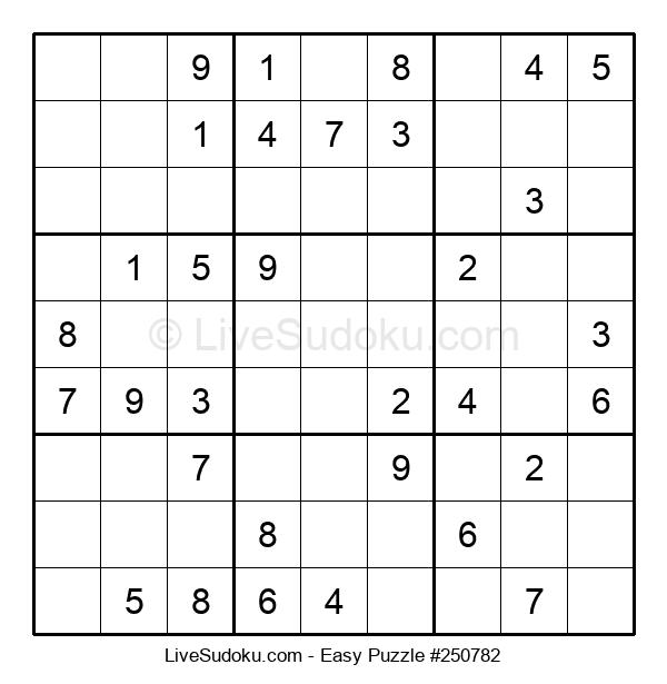 Beginners Puzzle #250782