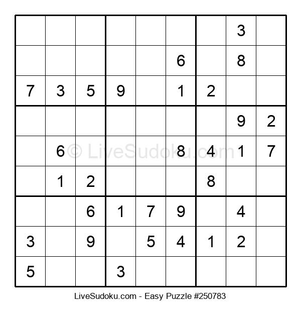 Beginners Puzzle #250783