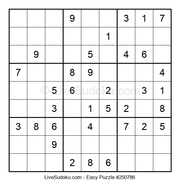 Beginners Puzzle #250786