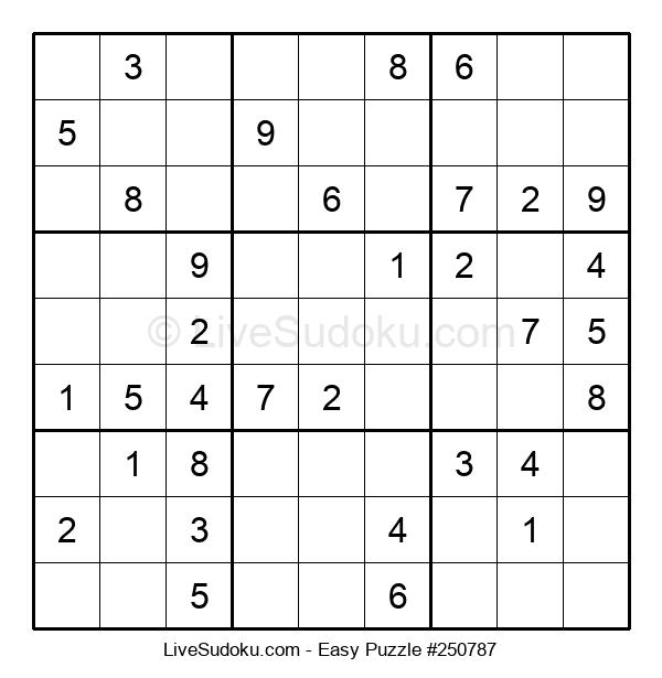 Beginners Puzzle #250787