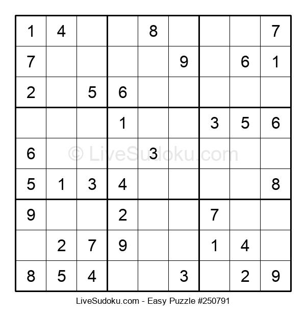 Beginners Puzzle #250791