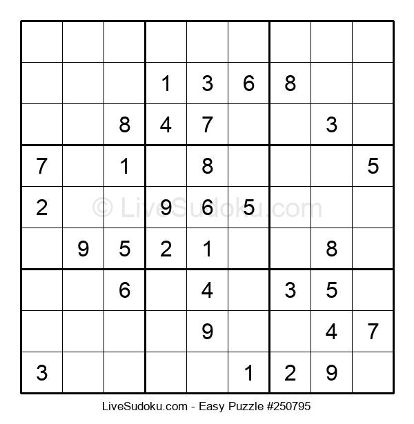 Beginners Puzzle #250795