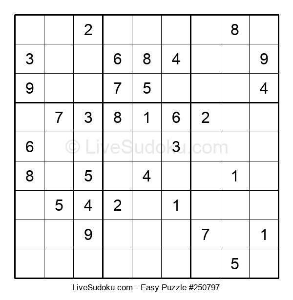 Beginners Puzzle #250797