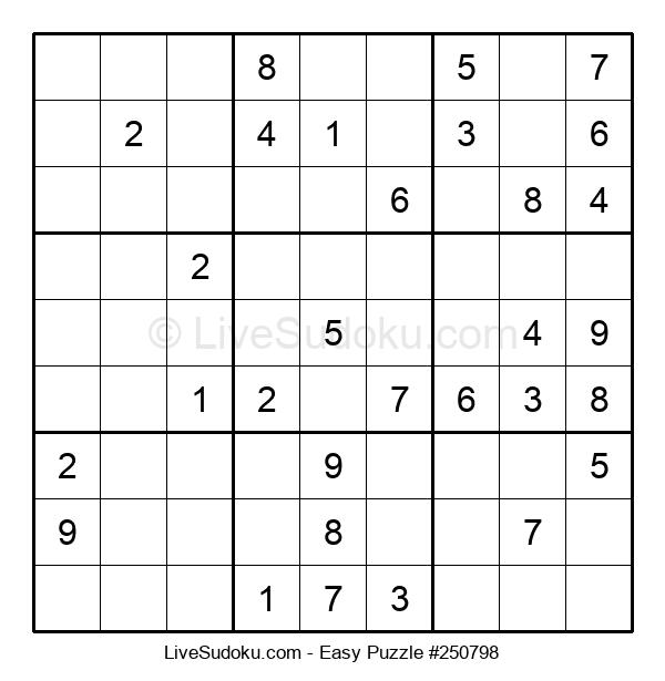 Beginners Puzzle #250798