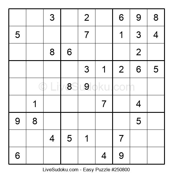 Beginners Puzzle #250800