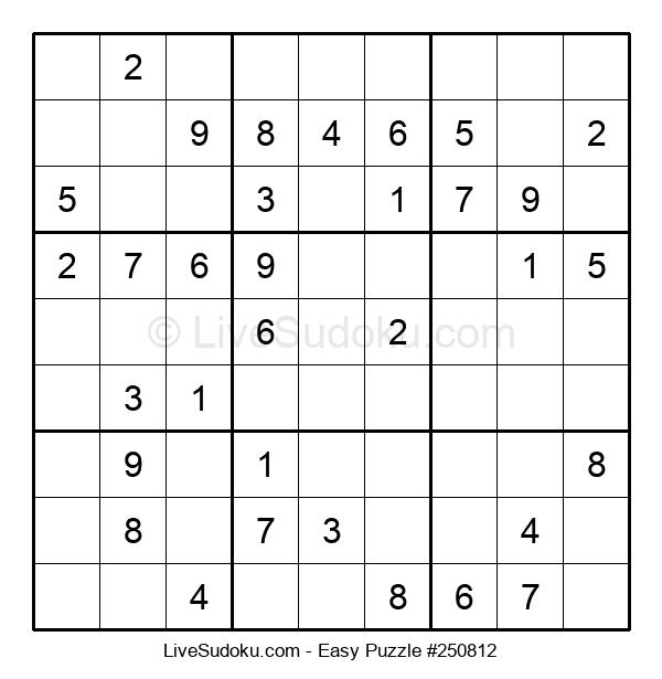 Beginners Puzzle #250812