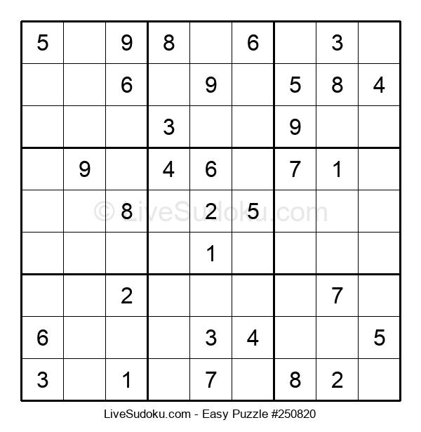 Beginners Puzzle #250820