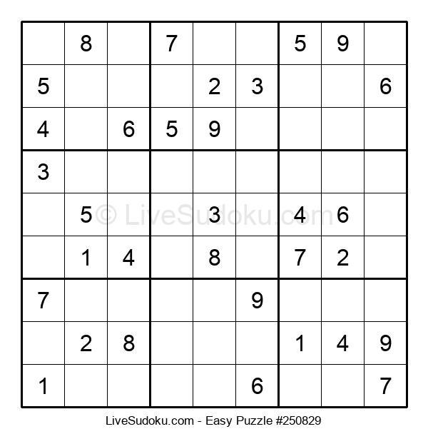 Beginners Puzzle #250829