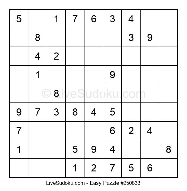 Beginners Puzzle #250833