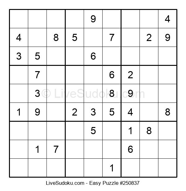 Beginners Puzzle #250837