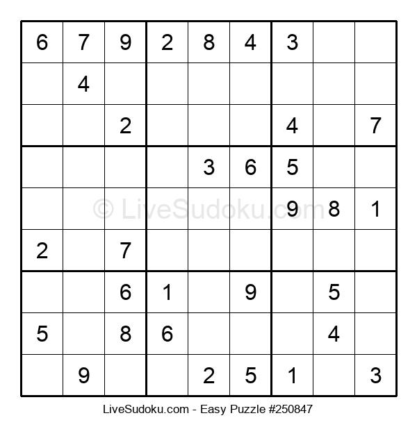 Beginners Puzzle #250847