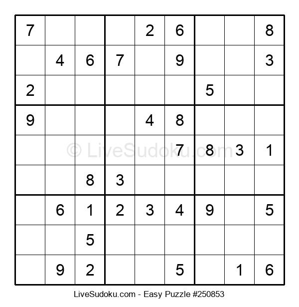 Beginners Puzzle #250853