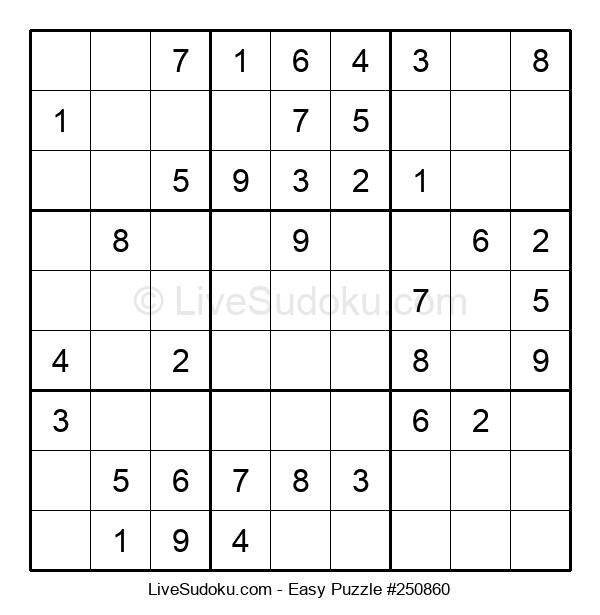 Beginners Puzzle #250860