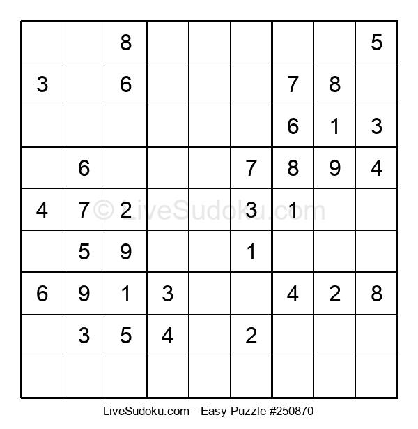 Beginners Puzzle #250870