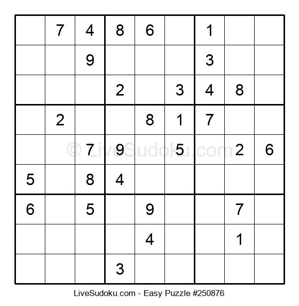 Beginners Puzzle #250876