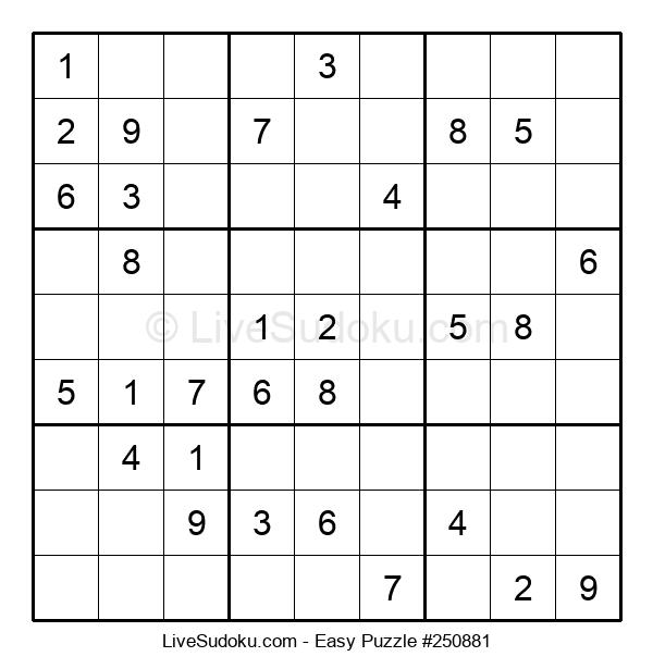Beginners Puzzle #250881