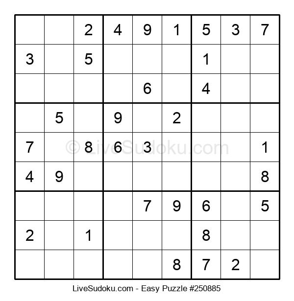 Beginners Puzzle #250885