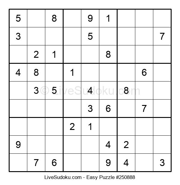 Beginners Puzzle #250888