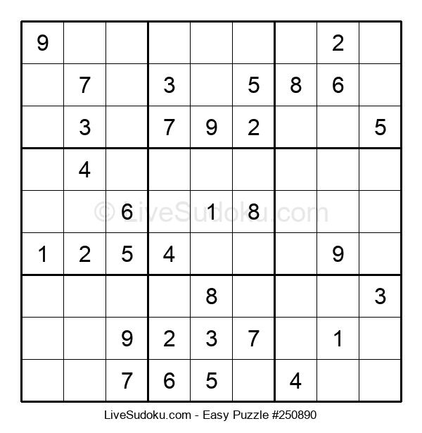 Beginners Puzzle #250890