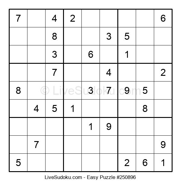 Beginners Puzzle #250896