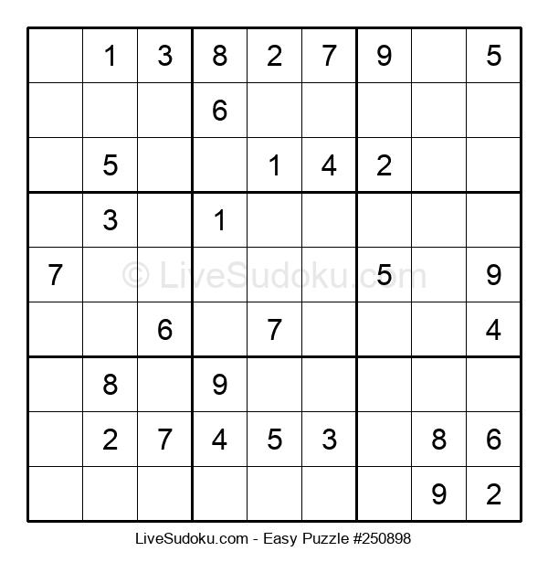 Beginners Puzzle #250898